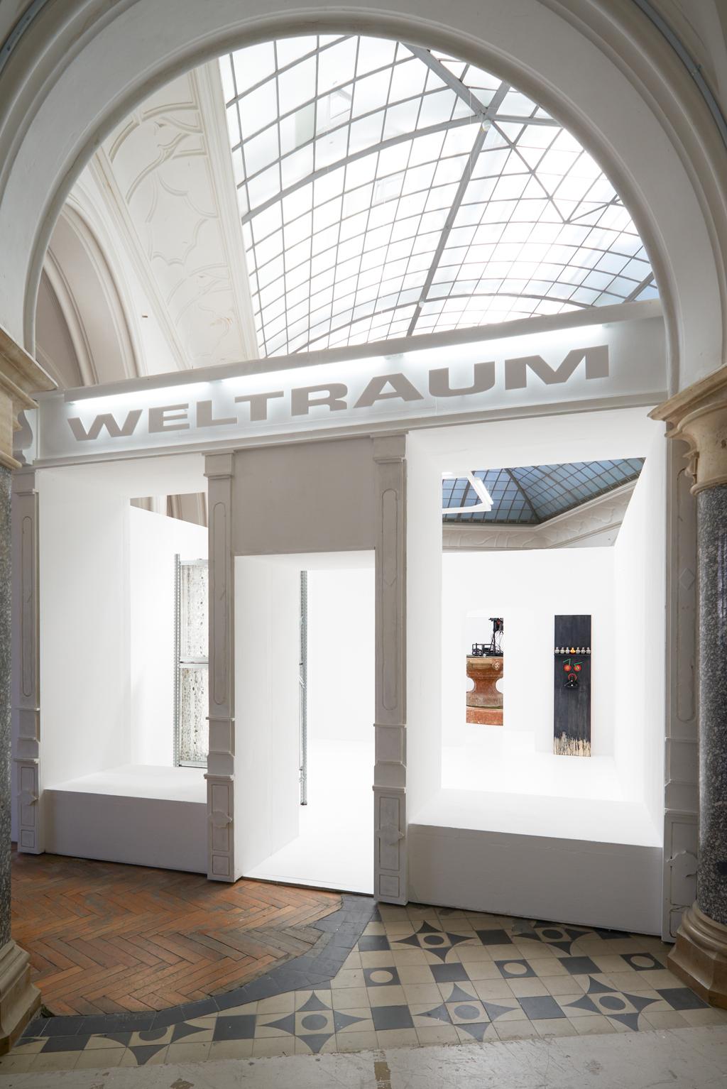 Die Rudi-Weltraum-Maschine | Installationsansicht Rathausgalerie München