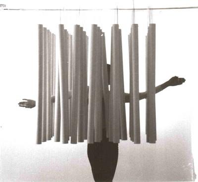 Spielräume – Interaktion der Künste | Tänzerische Intervention in der Installation, im Rahmen von performativen Aufführungen