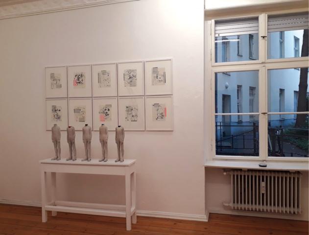 Installationsansicht LAB Galerie GEDOK Berlin