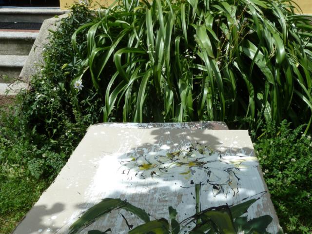 Im Garten von Georgette – Lilien | Work in Progress